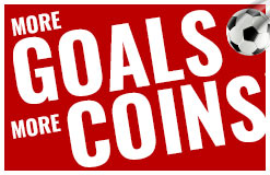 More goals more coins for the start into the season! Get extracoins on every purchase now!